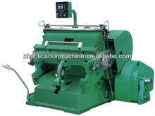 ML-750 Creasing and die cutting machine/die cutter and creasing and die cutting machine high quality low price in China
