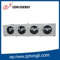 de enfriamiento por evaporación del evaporador y unidad de condensación para cámaras frigoríficas