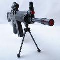 Huit sons noir jouet sniper fusils pour vente avec clignotant lumière