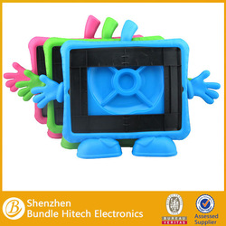 Kids Shock Proof Foam EVA Handle Case Cover For iPad 2 3 4