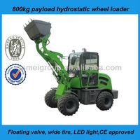 HZ mini new design tractor snow blower wheel loader JN 908 with CE