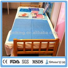 Reusable cool gel sleeping bed pad