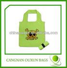2014 high popular nylon waterproof foldable shopping bag