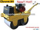 automatic soil compactor machine Double drum road roller light construction machien