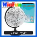 Mapa de la copa del mundo del rasguño bola mapa de Color globo del mundo Diy mapa del mundo