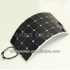 Special price waterproof semi flexible 75W 80W 18V module monocrystalline solar panel for 12V solar system charging