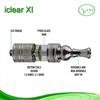 Innokin iClear X.I Pyrex Glass Tank Clearomizer Innokin Iclear XI