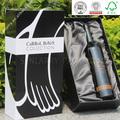 personalizado diseño individual de cartón de lujo de vino de embalaje caja de color con la bandeja de seda