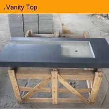 Dark vanity top one sink factory direct sale