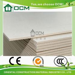 Waterproof light weight MgO board roof tile building materials