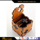 2014 hot sale eco-friendly wooden magic cube puzzle,puzzle game