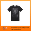 Hot Sale Black Men's Quick Drying Lightweight T-Shirt, Made by 20% Cotton & 80% Nylon