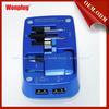 2014 latest wonplug patent CE/ROHS 5V/2.1A thailand universal travel plug adapter korea