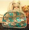 Large capacity tote bag/clear pvc zipper tote bags