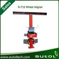 HOT Sale!!! X-712 LAUNCH Multilingual 3D Wheel Aligner/CE certificate