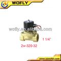 aquecedor solar 110 volts de bronze da válvula solenóide de água