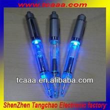 2014 novelty led flashing ball pen