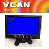Useful 7 inch digital car stand alone monitor with hdmi input VGA AV DC 12V PAL/NTSC system for sale