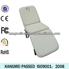 2014 Factory wholesale pu leather aluminum leg facial table electric aluminum leg massage table (KM-8801)