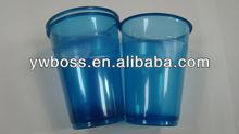 Ucuz 3.5oz 90ml net ışık renkli pp plastik çay bardak ve tabaklar toplu
