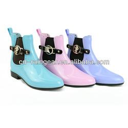 """PVC """"U"""" tape rain boots"""