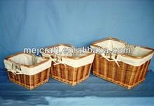 hamper bread wicker basket