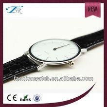 fashion popular in Swiden stylish custom logo diy alloy thin case japanese movt valentine wrist watches quartz