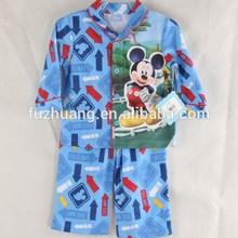 boys brushed micro jersey sleepwear set Mickey