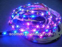 5V Addressable RGB LED Strip ws2811, IP65 Waterproof, WS2812B (WS2811), 30 Pixels per Meter;Black PCB;DC5V input;5m/roll