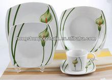 Commercial crockery dinnerware set,decorative tableware porcelain