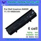 11.1v 4400mah laptop akku for Dell inspiron 14v n4020 n4030