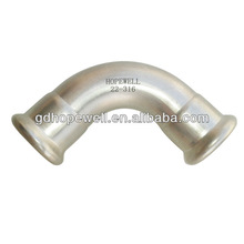 High quality hdpe 90 degree elbow in Guangzhou China