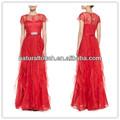 China fabricantes de roupas red cor agradável vestidos para mulheres grávidas