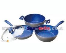 mavi safir gerekli tencere seti lezzet taş