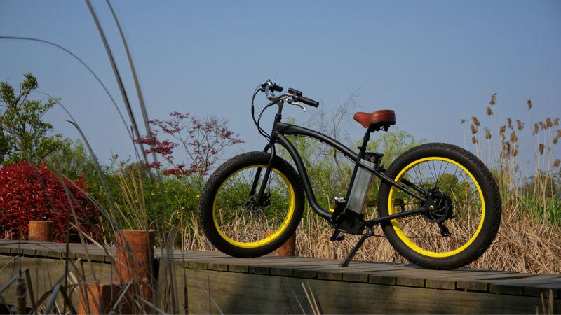 電動自転車 最新電動自転車 価格 : Electric Fat Tire Cruiser Bike