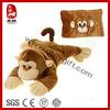 2014 New Arrival Stylish Plush Stuffed Monkey Pillow&Cushion Soft Wild Animal Kids Toy Plush Monkey Toy