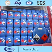 PLS 85%min formic acid tech grade for textile industry