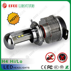 Waterproof IP68 Hi/Lo Beam DC 12-24V Cree 2400LM 40w H4 international truck headlight