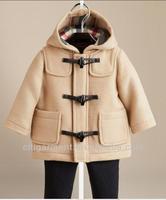 Children's Wool Duffle Boy's Coat (3M-3Years)