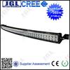hot sale 50 inch 288w 4x4 Cree Led Car Light Bar, Curved Led Light bar Off road
