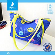 2014 fashion nylon foldable tote bag