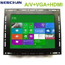Industrial grade Open frame touch virtual pixel board monitor