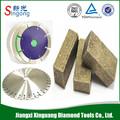china marca de fábrica famosa hoja de sierra y los segmentos de diamante para el mármol