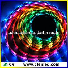 DC5v while pcb ws2801 rgb LED digital strip