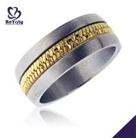 custom wholesale stainless steel cost of wedding rings