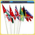 custom internacional bandeiras de papel