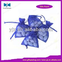 organza bag with rhinestone gift bag package