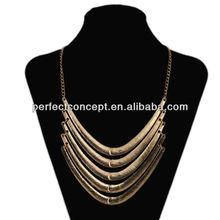 Fashion Necklace Multi Level V Shaped Classic Style