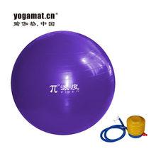 yoga ball with handle