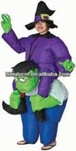 HI custom inflatable moving cartoon mascot,inflatable costume